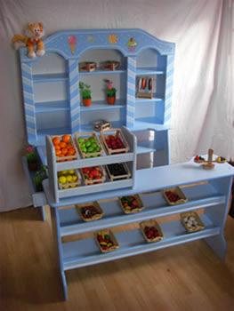 etagere s igkeiten st nder kaufladen zubeh r kuchen etagere holz rosa ebay. Black Bedroom Furniture Sets. Home Design Ideas
